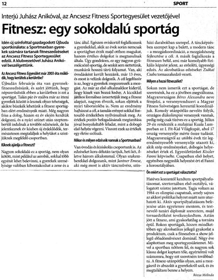 Újbuda Újság 2007. 19-20. szám